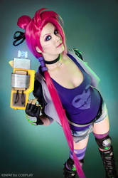 Slayer Jinx - League of Legends by Kinpatsu-Cosplay