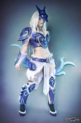 Armored Kindred - League of Legends by Kinpatsu-Cosplay