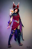 Xayah - League of Legends by Kinpatsu-Cosplay