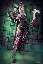 Sylvanas - World of Warcraft : Legion by Kinpatsu-Cosplay