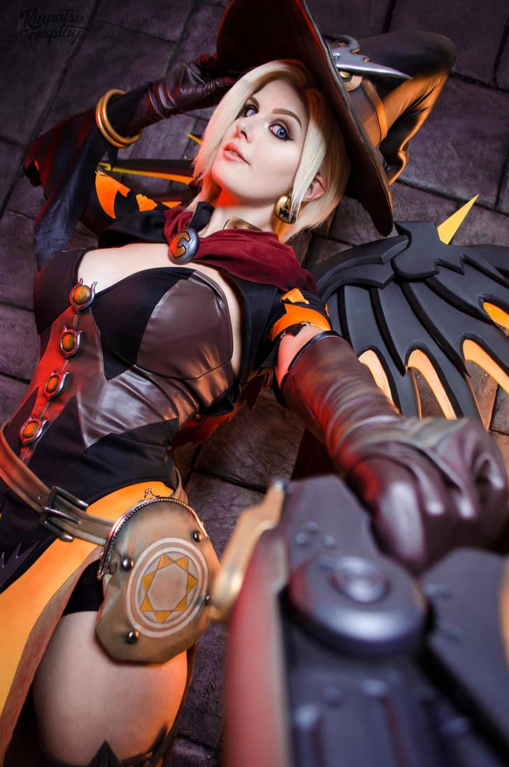 Witch Mercy Overwatch By Kinpatsu Cosplay On Deviantart