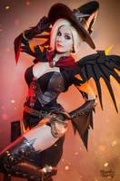 Witch Mercy - Overwatch by Kinpatsu-Cosplay
