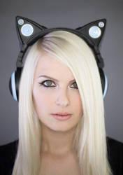 Cat Ear Headphones by Kinpatsu-Cosplay