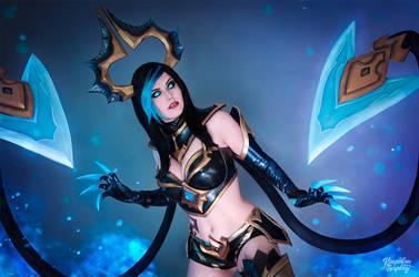 Shadow Evelynn - League of Legends by Kinpatsu-Cosplay