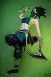 Akali - League of Legends by Kinpatsu-Cosplay