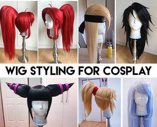 Wig Styling for Cosplay by Kinpatsu-Cosplay