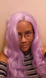 My Purple Wig by RisqueKitsune