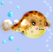 Puffer Vector by Ljtigerlily