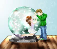 Snowglobe Love by Ljtigerlily