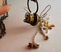 Steampunk dragonfly for sale by Ljtigerlily