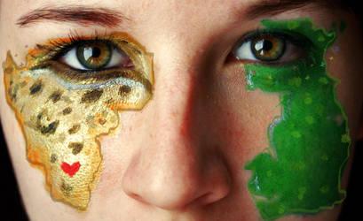 Worlds Apart Inside my Heart by Ljtigerlily