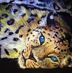 Amur Leopard by Ljtigerlily