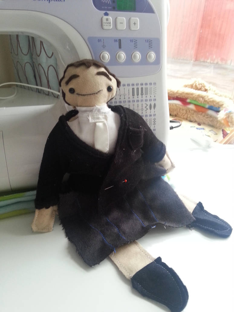 Groom Doll WIP by Ljtigerlily
