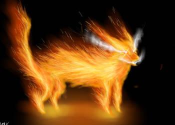 Fire Cat by OriginalLp9