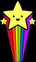Rainbow Stars by Rietalienko