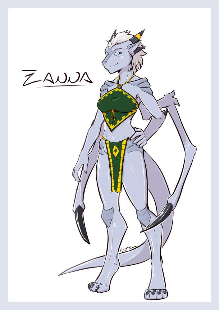 Zanna the Ground Dragon! by Holtzmann