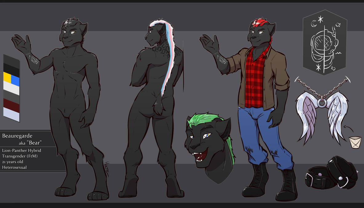 [C] Beauregarde Refsheet! by Holtzmann
