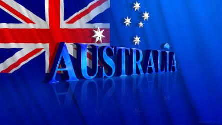 Australia Desktop wallpaper by graphomet