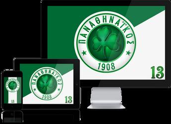 Panathinaikos FC Wallpaper Mobile Screensavers by graphomet