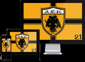 AEK FC Wallpaper Mobile Screensavers by graphomet