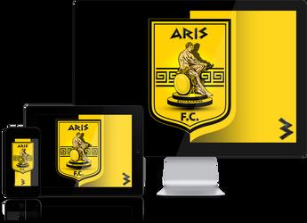 ARIS FC Wallpaper Mobile Screensavers by graphomet