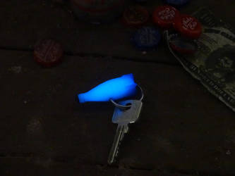 Fallout 4 Nuka Cola Quantum Key Chain by Corroder666