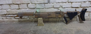 Fallout 4 Pipe Rifle replica by Corroder666