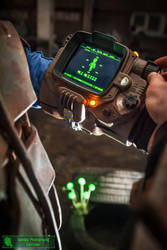Pip-Boy 3000 Mk IV close up by Corroder666