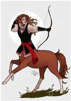 Day 2 - Centaur by Tom-Arrow