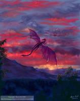 Lone Flight by ValkyrieNZ
