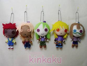 Plush Set : Talia Dolls by kinkaku