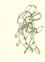 amphibious mechanized suit by KIRILL-PREDATOR