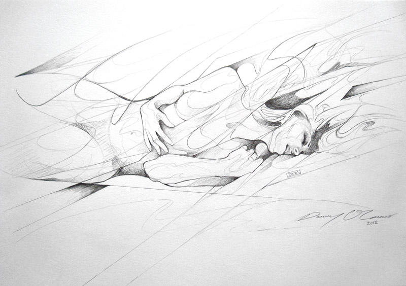 Reclining Figure Sketch by ART-BY-DOC