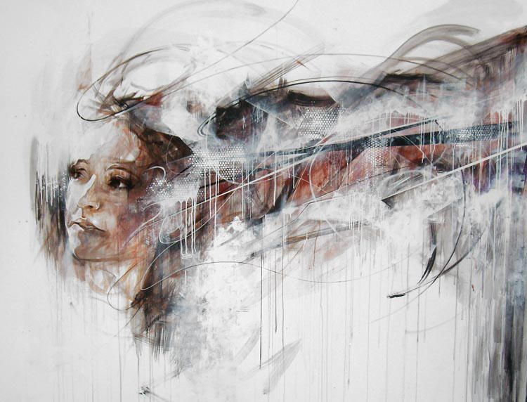 Large scale painting by ART-BY-DOC