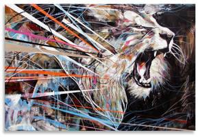 Roaring Lion by ART-BY-DOC