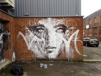 Street Art Mural Liverpool by ART-BY-DOC