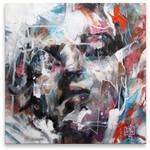 Portrait Study 12x12inch by ART-BY-DOC