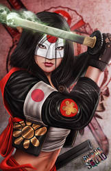 Katana - Suicide Squad by DyanaWang