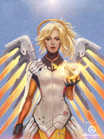 Mercy - Overwatch by DyanaWang