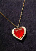 Heart Container Necklace by Skogflickan
