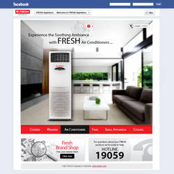 FRESH Egypt Appliance - Facebook Page by MaiEltouny