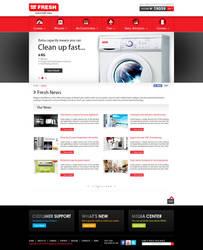FRESH Egypt Appliance - News Page by MaiEltouny