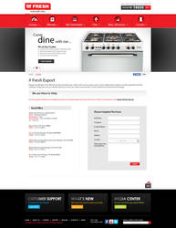 FRESH Egypt Appliance -  Export Page by MaiEltouny