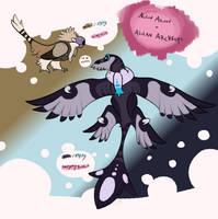 [Pokemon Variations] Alolan Archen/Archeops by MatthewOnArt