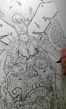 2017 Stranger Comics - NIOBE Pinup 3 Pic 8 of 23 by arielaguire