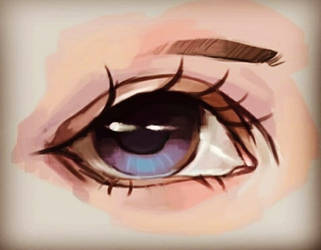 Sketchy eye.(Practice) by ConceptBeast