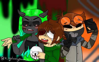 Spooky selfie by 3XGalaxyPandaX3