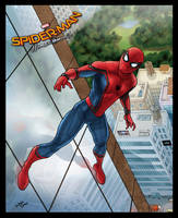 Spider-man Homecoming poster vol 2 by sonicboom35
