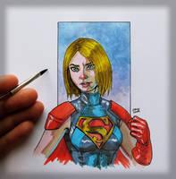 Injustice 2 Supergirl by sonicboom35