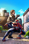 Spidey and MJ by sonicboom35